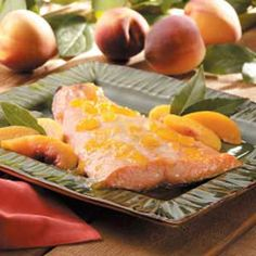 Peach-Glazed Salmon