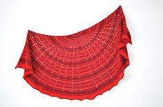 Ravelry: Granemones Shawl pattern by La Maison Rililie Lace Knitting, Knitting Stitches, Knitting Patterns, Crochet Patterns, Knitted Shawls, Crochet Shawl, Knit Crochet, Cowl Scarf, Shawls And Wraps