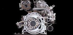 Mazda: wankel engine for a future hydrogen-electric hybrid car