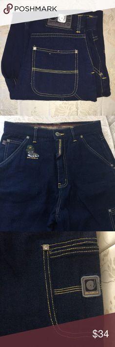 PELLE-PELLE BOYS DARK BLUE DENIM JEANS Vintage well kept from the late 90's!! Pelle Pelle Bottoms Jeans