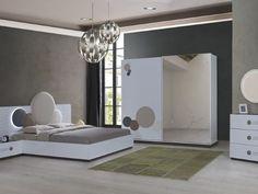POLİ YATAK ODASI TAKIMI Living Room Sofa Design, Bedroom Furniture Design, Room Ideas Bedroom, Home Room Design, Master Bedroom Design, House Design, Bedding Master Bedroom, Modern Master Bedroom, Stylish Bedroom
