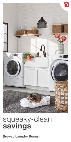 Give your laundry room the update it deserves with unbelievable deals on gorgeous laundry room furniture and decor at Overstock, where quality costs l. Mudroom Laundry Room, Laundry Room Layouts, Laundry Room Remodel, Laundry Room Bathroom, Laundry Room Design, Bathroom Ideas, Basement Renovations, Home Remodeling, Laundry Room Inspiration