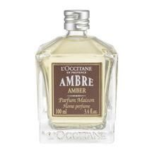 A spray of AMBER brings into your home the reassuring presence of time-worn wood with a patina glow and cashmere-soft vanillas. Home spray pump sold separately. More Details L'occitane En Provence, Ambre, Home Scents, Now And Forever, Beauty Secrets, Vanilla, Perfume Bottles, Glow, Kisses