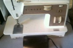 Vintage Singer 758 Touch and Sew With Accessories For Sale On eBay
