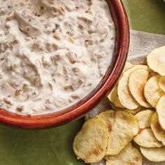 Good spin on your favorite potato chips. But instead of deep frying them, microwave them!