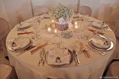 Allestimento tavolo, centrotavola e menù    Wedding designer & planner Monia Re - www.moniare.com   Organizzazione e pianificazione Kairòs Eventi -www.kairoseventi.it