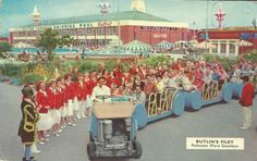 Butlins Filey - Redcoats wave goodbye