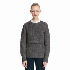 Marga Sweater in Black&White by Trademark