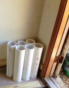 I would NEVER have thought of this pvc pipe hack. This woman is simply brilliant!