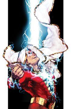 Shazam Comic Issue 6 Limited Variant Modern Age First Print 2019 Johns Eaglesham Captain Marvel Shazam, Shazam Comic, Original Captain Marvel, Marvel Dc Comics, Dc Comics Superheroes, Dc Comics Characters, Dc Comics Art, Comic Kunst, Comic Art