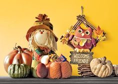 Welcome Friends to Fall Decorating at Shopko.com