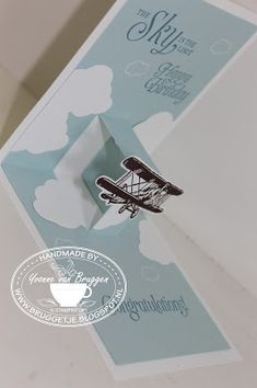Yvonne is Stampin' & Scrapping: Stampin' Up! Sale-a-Bration 2016 Sky is the Limit #stampinup