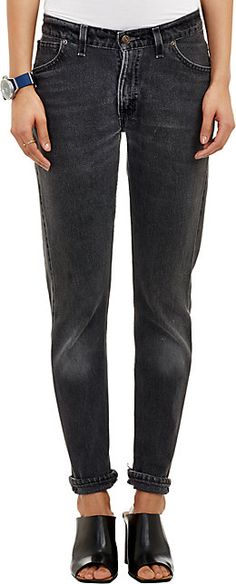 We Adore: The Straight Skinny Jeans from RE/DONE at Barneys New York