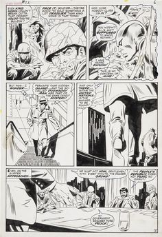 John Buscema and Dan Adkins Silver Surfer #13 page 5 Original Art | Lot #92039 | Heritage Auctions