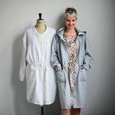 The Utility Coat - Maker's Atelier patterns