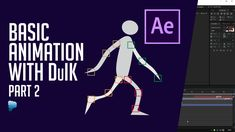 Adobe After Effect CC 2015 | Basic DuIK Animation Part 2