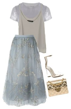 """""""Untitled #1171"""" by mariam-magana ❤ liked on Polyvore featuring Related, Valentino, Cape Robbin and Chanel"""