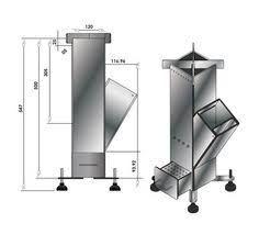 Image result for medidas rocket stove