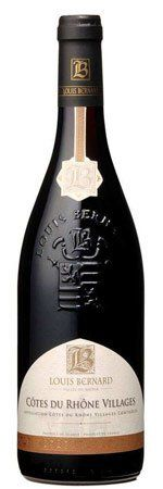 Louis Bernard Cotes du Rhone Villages 2012   WineShopper