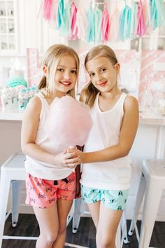 The TomKat Studio | Blog: Kate's Cotton Candy Party!