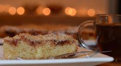 עוגת פירורים עם ריבה