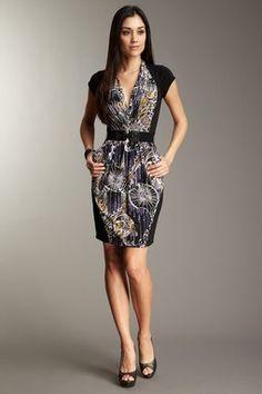 BCBG paisley dress $89