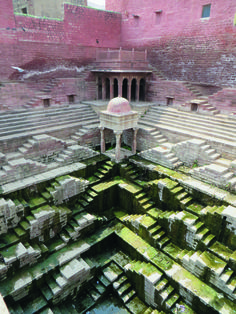Photos: The Beautiful Architecture of India's Ancient Stepwells - Ancient step well in India. Ancient step well in India. Ancient step well in India. Architecture Antique, Indian Architecture, Beautiful Architecture, Architecture Design, Architecture Today, Architecture Sketchbook, Minimalist Architecture, Building Architecture, Architecture Portfolio