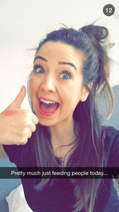 Zoe Sugg snapchat