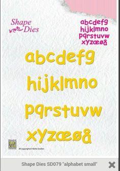 Snijmal: Nellie Snellen. SD079. Alfabet