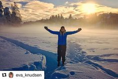 Livet er herlig! #reiseblogger #reiseliv #reisetips #reiseråd  #Repost @eva_knudsen with @get_repost  Søndagstur i nydelig vintervær med datteren min Henriette