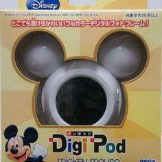 ディズニーデジポッドミッキーマウス(DISNEY Digi-Pod MICKEY MOUSE) ホワイト