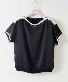 Basic black blouse