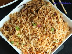 2 in 1 : Schezwan Noodles and Rice combo