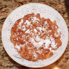 What's Cookin' Italian Style Cuisine: Claudia's Funnel Cake Recipe