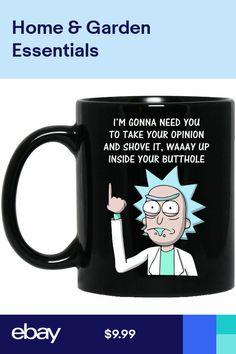 f5893986dfa Rick And Morty Im Gonna Need You To Take Your Opinion Mug - 11oz Coffee Mug