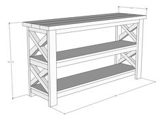 The pocket holes should be placed on the Diy Furniture Plans, Diy Furniture Projects, Woodworking Furniture, Diy Wood Projects, Rustic Furniture, Furniture Dolly, Furniture Storage, Garden Furniture, Furniture Design