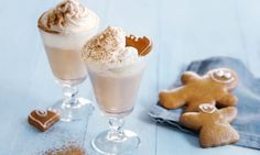 Gingerbread Latte - Rezepte - Schweizer Milch Latte Macchiato, Chai Latte, Gingerbread Latte, Starbucks, Pudding, Pumpkin, Desserts, Christmas, Food