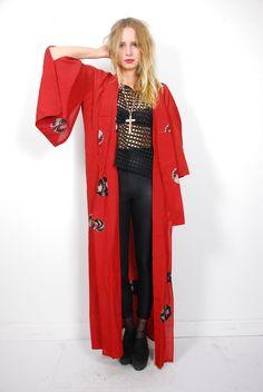 1930's Raw Silk Kimono