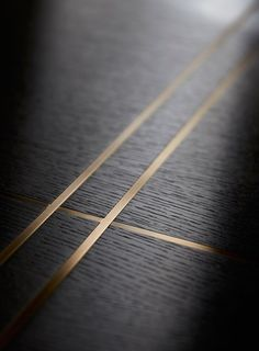 Brass inlay in joinery - Helen Green
