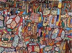 TO SHOP, INTO. Jean Dubuffet