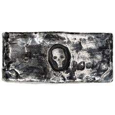 3 oz MK Barz Hand Poured Rugged Skull Silver Bar from JM Bullion™ Silver Bars, Skull, Tapestry, Pure Products, Rugs, Stuff To Buy, Hanging Tapestry, Farmhouse Rugs, Tapestries