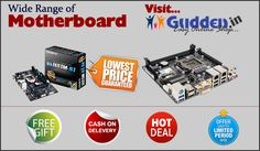 Buy Motherboard From Gudden-Online Shopping India http://gudden.in/desktop/Motherboards