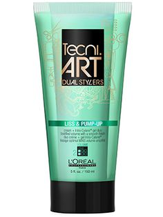 This L'Oreal Professionnel hair gel and styling cream adds volume and fights frizz at the same time.