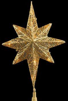 Lighted Christmas Tree Star Topper