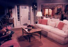 Maris Crane's beach house interior set design by Ron olsen Home Living Room, My Dream Home, Beach House, Couch, Set Design, Tv, Interior, Films, Homes