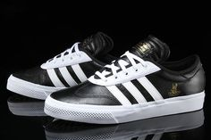 The adidas adi-Ease skate shoe sheds its canvas construction for a new premium…