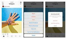 Instagram mute-button