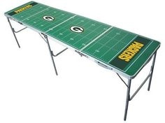Wild Sports NFL Green Bay Packers Tailgate Table - 2'x8'