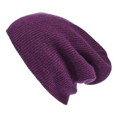 Women's Halogen Slouchy Cashmere Beanie ($45) ❤ liked on Polyvore featuring accessories, hats, purple passion, slouch beanie, cashmere hat, saggy beanie, cashmere slouch hat and purple hat