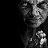 Homeless beggar in the Vatican....Photo by Lee Jeffries....